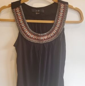 Boho sleeveless top